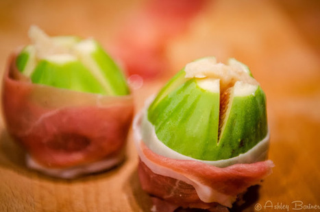Baked Figs Wrapped in Prosciutto, Stuffed with Aged Sheep's Milk Cheese | Food Travel | Scoop.it
