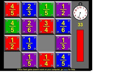 Fractone - Play it now ONLY at Coolmath-Games.com | sjm fractions | Scoop.it