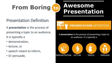 How to Use Icons to Turn a Mind-Numbingly Boring PowerPoint Presentation into an Awesome One | Presentation Design | Scoop.it
