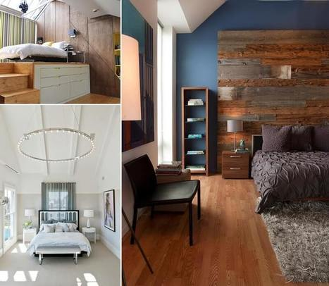 How to Decorate a High Ceiling Bedroom Effectively | Amazing interior design | Scoop.it