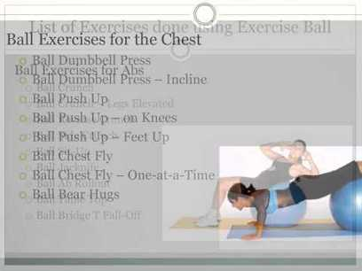 A to Z of Exercise Stability Ball Part 1 | Exercise Stability Ball | Scoop.it