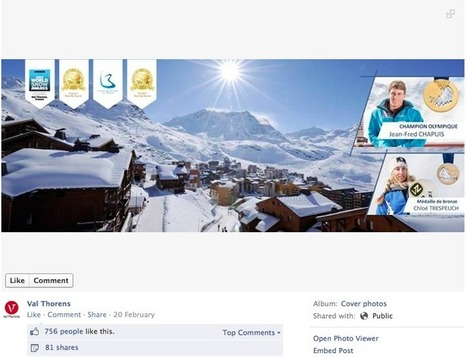 Top 50 French ski resorts on Facebook (1 Mar '14) | Les domaines skiables | Scoop.it