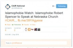Nazi-Style Tactics: Terror Group Hamas-CAIR Thugs Try to Shut Down Robert Spencer - Pamela Geller, Atlas Shrugs