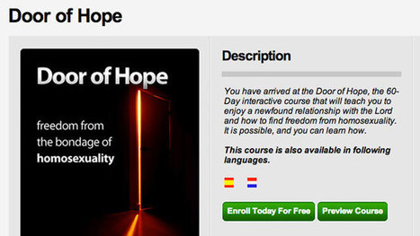 Apple Drops 'Gay Cure' App - ABC News | Christian Homophobia | Scoop.it