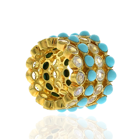 Diamond Turquoise Gemstone Ring | Wholesale Jewelry | GemcoDesigns | Pave Diamond Palm Bracelets | Diamond Jewelry | GemcoDesigns | Scoop.it