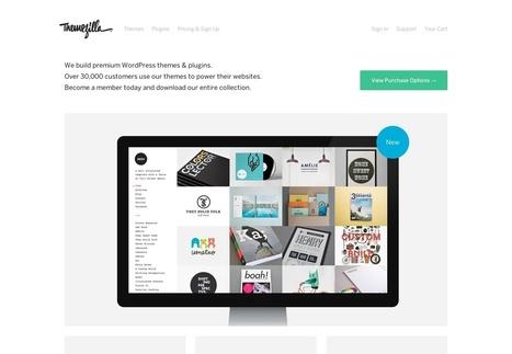 The A-Z of WordPress theme websites   Webdesigner Depot   Make it Pretty   Scoop.it