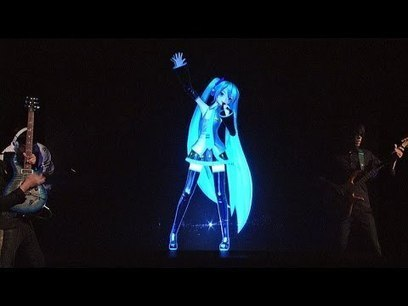 Watch a Japanese Pop Star Hologram's Performance on Letterman | Strange days indeed... | Scoop.it