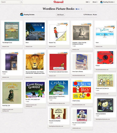 A few words about wordless picture books | Reading discovery | Scoop.it