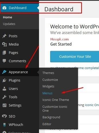 How to create menu navigation in wordpress 2014 | HowPk | Howpk | Scoop.it