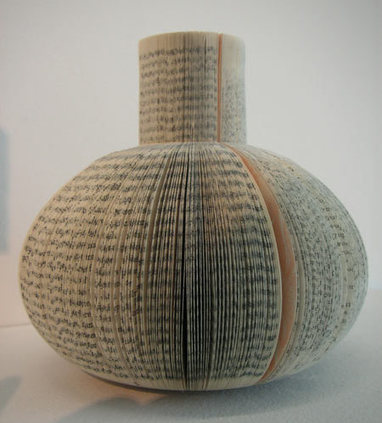 Recycled Book Vases | Recycled Crafts | Scoop.it