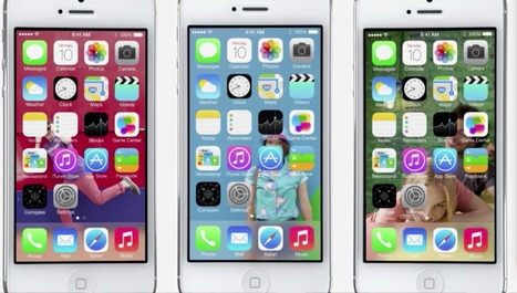 iOS 7: Here is Apple's mobile operating system of the future (gallery) | Mobile, Design, Development, and everything else | Scoop.it