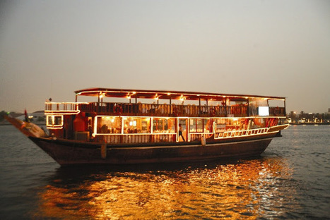 Majestic Evening at Dhow Cruise Dubai: Dhow Cruise Dinner- A MAJESTIC EVENING ON FLOATING BOAT | National Institute of Arts and Management | Scoop.it