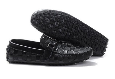 Louis Vuitton Loafers For Men Black Latest Style LS-071 | micahcarson | Scoop.it