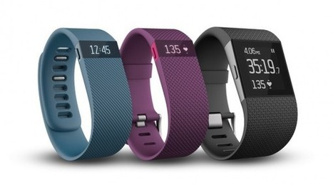 Fitbit dévoile ses Fitbit Charge, Charge HR et Surge   Interactions Design, Innovations and Technologies   Scoop.it