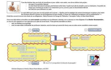 Carte heuristique et tâche complexe | Cartes mentales | Scoop.it