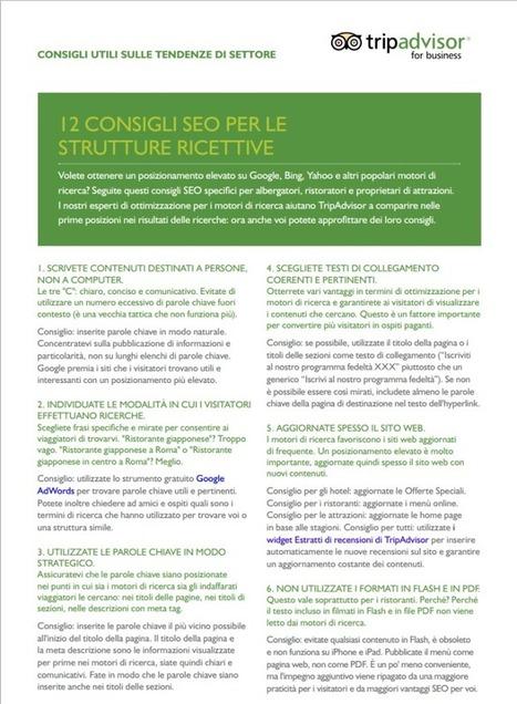 Consigli SEO per strutture ricettive   ToxNetLab's Blog   Scoop.it