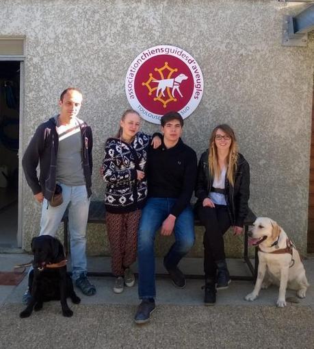 Nérac. Une semaine  pour un chien guide   Dossier de presse LEGTA Nérac   Scoop.it