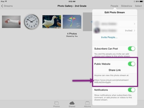 iCloud Photo Sharing is the New Clip Art Gallery | idevices for special needs | Scoop.it