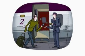 Thalys veut supprimer le billet et le mettre sur mobile   QRdressCode   Scoop.it