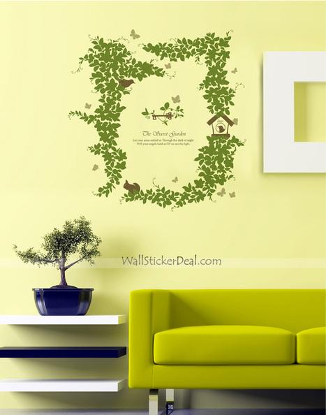 The Secret Garden Tree Wall Stickers– WallStickerDeal.com   Tree Wall Stickers   Scoop.it