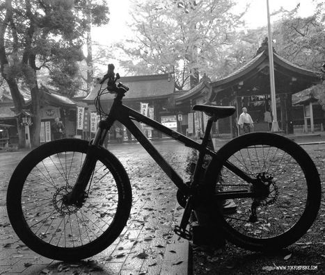 Rainy Afternoon Cycling in Tokyo   Tokyo By Bike - Cycling News & Information from Japan   Tokyo By Bike   Scoop.it