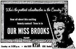 Our Miss Brooks Radio Show - Entertainment Radio | Old Time and Current Radio Shows | Scoop.it