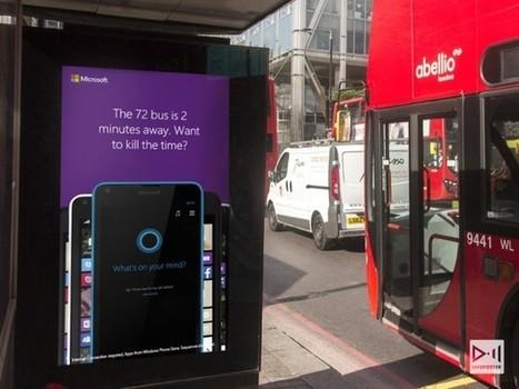 » Royaume-Uni : La campagne dynamique et temps réel de Microsoft à Londres   Affichage dynamique et PLV   Scoop.it