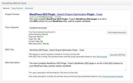 WordPress SEO Plugin • XML Sitemaps & more! • Yoast | Wordpress for Marketing | Scoop.it