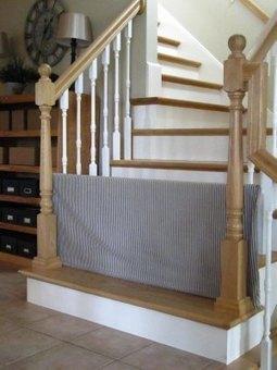 Sitefan de barrière de sécurité dans les escaliers   Astuces maman-bébé de la puériculture   Scoop.it
