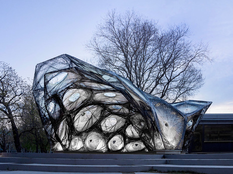 interview with ICD/ITKE team on fiber-woven research pavilion 2013-14 - designboom | architecture & design magazine | parametric design | Scoop.it