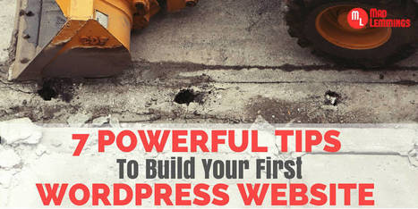 7 Powerful Tips To Build Your First WordPress Site With Ease | World of #SEO, #SMM, #ContentMarketing, #DigitalMarketing | Scoop.it