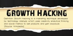 Que penser du Growth Hacking en tant que patron d'entreprise ? | Entrepreneurs du Web | Scoop.it