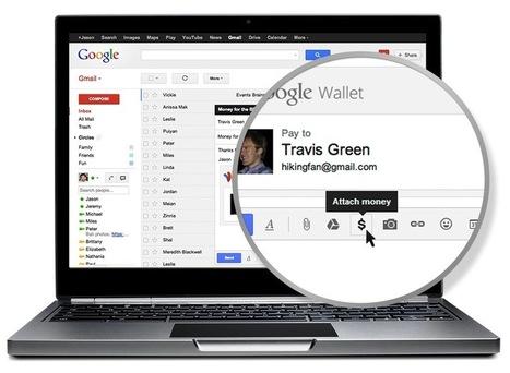 Google Wallet dans Gmail, envoyez de l'argent à un ami | L'internet de demain | Scoop.it