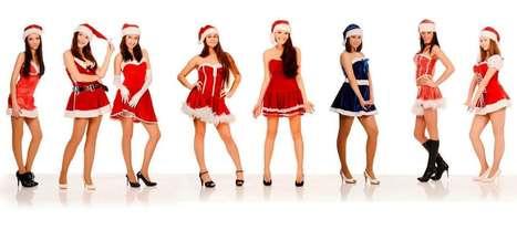 Hot Girls Santa Claus Wallpaper | Christmas Facebook Timeline Cover 2014 | Wallpapers | Scoop.it