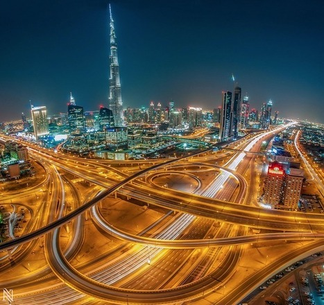 Amazing Cityscape Views from the Rooftops of Dubai | NYL - News YOU Like | Scoop.it