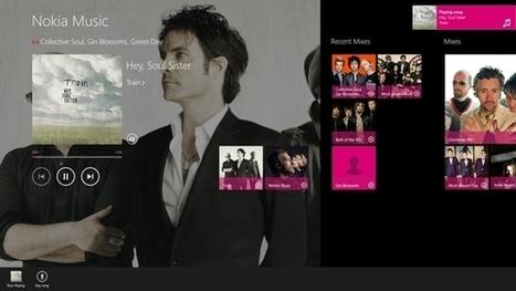 Windows 8 App Pick: Nokia Music | candra listiyanto | Scoop.it