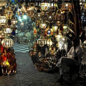 Light Stallv in the Marrakech souks | Arts & luxury in Marrakech | Scoop.it
