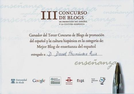 Un profesor en red - Blog de Daniel Hernández: ProfeDeELE.es nombrado mejor blog de enseñanza del español | Aulas ATAL e Interculturalidad | Scoop.it