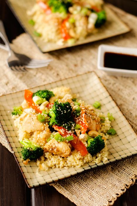 Sweet Heat Cashew Chicken & Quinoa   Gluten Sensitive   Scoop.it