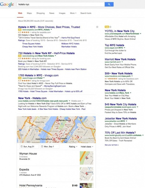 Google Test Search Results - 11 Ads, 1 Directory and 3 Stinkers   Local Search News For APM Dentists   Scoop.it