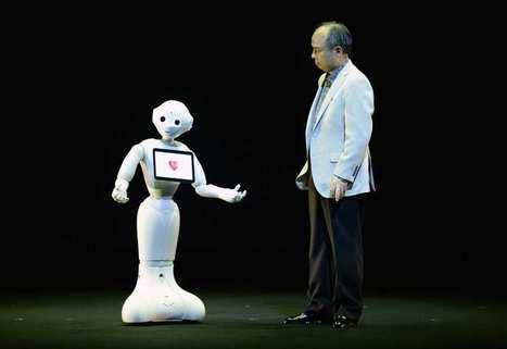 Softbank et Aldebaran dévoilent le premier robot émotif | Nouveaux comportements & accompagnement aux changements | Scoop.it