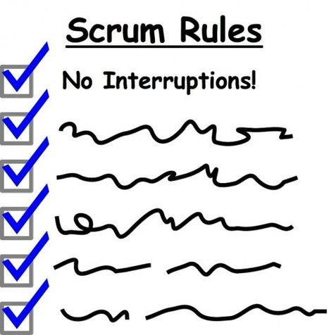 Seven Options for Handling Interruptions in Scrum and Other Agile Methods | Gestion de contenus, GED, workflows, ECM | Scoop.it