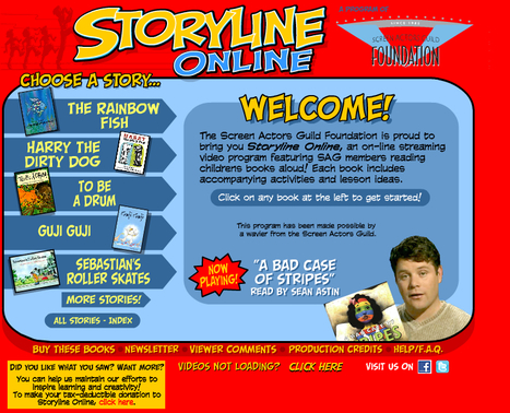 Storyline Online | Read to me | Scoop.it