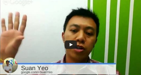 E-Learning Conversation: Suan Yeo from Google - Google Apps For Education Tips & Tricks | eLearning tools | Scoop.it