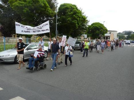 Granville : manifestation contre le plan de circulation | La Manche Libre granville | Actu Basse-Normandie (La Manche Libre) | Scoop.it