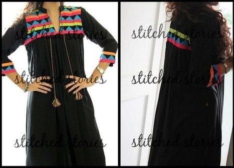 Stitched Stories Winter Collection 2013 | Latest Fashion News of Pakistan | Scoop.it
