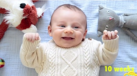 Watch a Baby Transform From a Newborn to a Toddler in Just Two Minutes - TIME | Cute Kids | Scoop.it