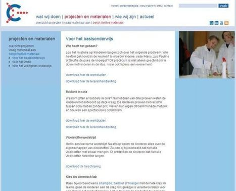 Scheikunde op de Basisschool [Techniek] « Manssen.nl - It's all in ... | Nieuws en wetenswaardigheden NaSk | Scoop.it
