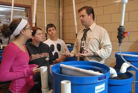 Oblock students get first-hand experience with aquaponics | Aquaponics in Action | Scoop.it
