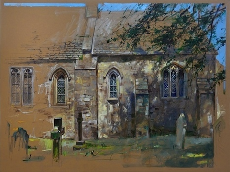 Sacred Spaces: Jack Maxwell to show new paintings at Pepperdine | PBL Brainstorm | Scoop.it
